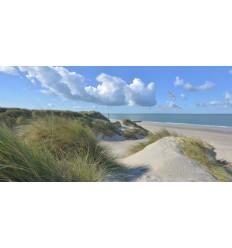 Burgh haamstede duinen strand en zee Fotowand wanddecoratie fotobehang muurposter natuurfoto natuurfotowand gerard veerling