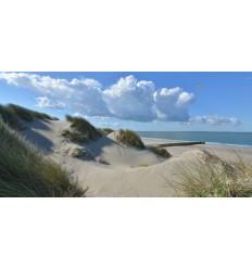 Burgh Haamstede zee duinen en strand Fotowand wanddecoratie fotobehang muurposter natuurfoto natuurfotowand gerard veerling