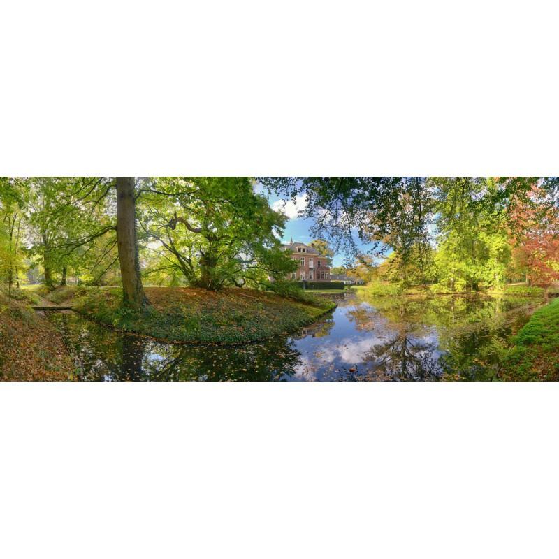 landgoed kasteel Hoekelum Fotowand fotobehang muurposter wanddecoratie natuurfoto gerard veerling fotowandenshop.nl