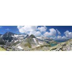 Fotowand fotobehang muurposter bergen alpen Oostenrijk Stubachtahl