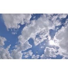 LED plafond met wolkenluchten