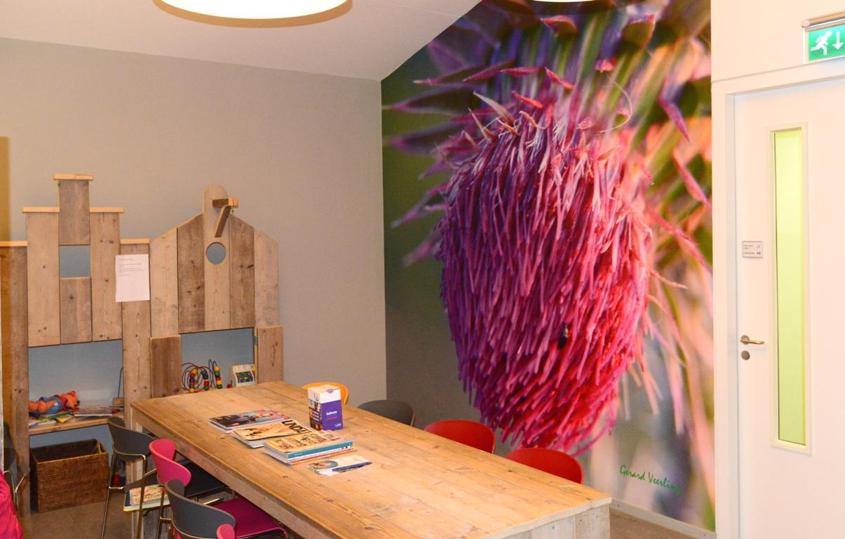 fotowand wachtkamer huisarts. fotowandenshop.nl