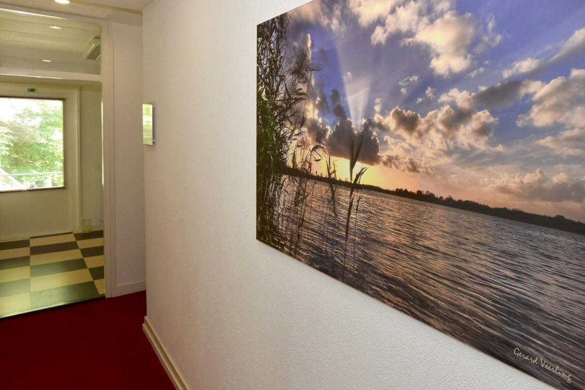 Fotopaneel kantoorgang. Fotowandenshop.nl