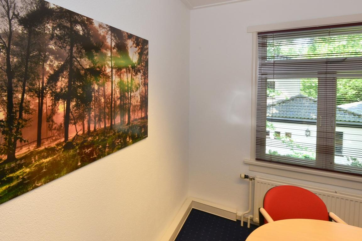 Fotopaneel kantoorkamer. fotowandenshop.nl