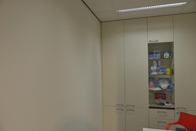 Voorlichtingsruimte apotheek oude situatie lege meer. Fotowandenshop.nl